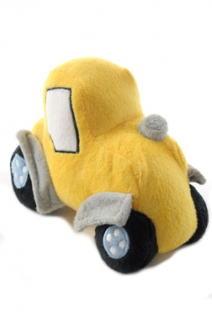 Malé plyšové autíčka