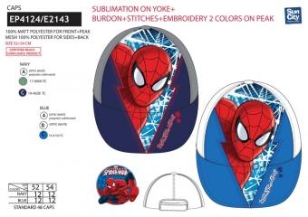 Šiltovka Spiderman