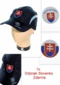 Šiltovka pásik slovakia - modrá