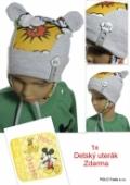 Detská čiapka - Boom