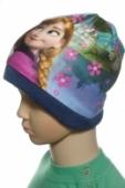 Detská čiapka frozen - sisters