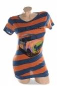 Dámske tričko - pásikavé , 2-2815