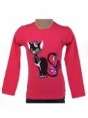 Detské tričko mačka s flitrami