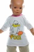 Kojenecké  tričko - Kačka You