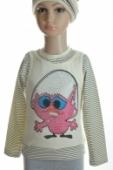 Detské tričko - kura, 2-3395