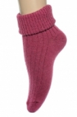Dámske štrikované ponožky, 21-254
