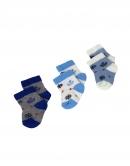 Kojenecké ponožky 3ks - námornické