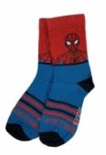 Detské ponožky Spiderman dvojfarebné