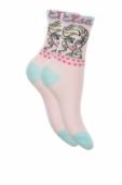 Ponožky Frozen - Elsa srdiečka