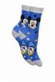 Ponožky Mickey Mouse a Donald Duck