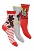 Ponožky Minnie Mouse - trojbalenie