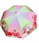 Dáždnik detský psík v tričku 66cm