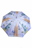 Dáždnik mesto - klasický + darček2