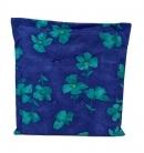 Obojstranný sedák zelené kvety, PoloTrade