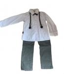 Chlapčenský oblek vzor