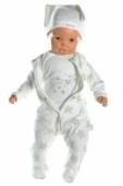 3 dielny bavlnený kojenecký komplet - Hviezda