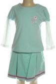 Detský komplet - sukňa s tričkom, 4-8340