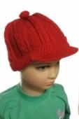 Detská čiapka so šiltom.