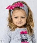 Dievčenská čelenka - bodky