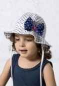 Detský bodkovaný klobúk - MIETUSEK
