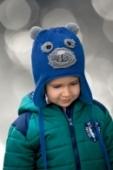 Detská čiapka - Macko, 5-6611