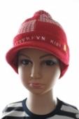 Detská čiapka so šiltom pásiky