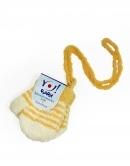 Kojenecké rukavice so šnúrkou - prúžkové
