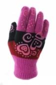 Dievčenské rukavice , 6-J6413