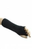 Dámske dlhé bezprstové rukavice so vzorom