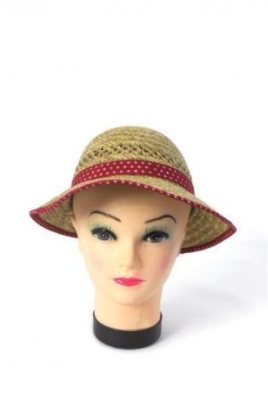 Detský klobúk slamený