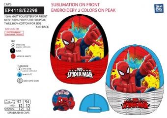 Chlapčenská šiltovka Spiderman