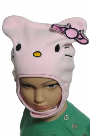 Čiapka Hello Kitty s mašľou