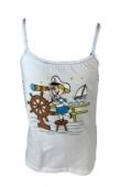 Detské tielko námornické dievča na lodi