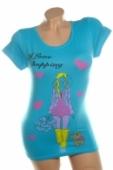 Dámske tričko - I LOVE SHOPPING