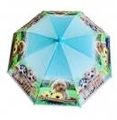 Dáždnik detský pes s kvetinou 66cm