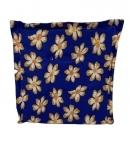 Obojstranný sedák modrý-kvety, PoloTrade