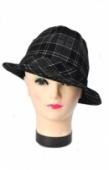 Pánsky klobúk - Káro