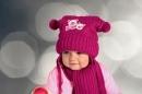 Detská čiapka+šál PRZYJACIEL