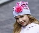 Detská čiapka kvet zapach