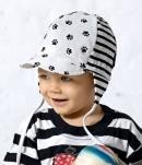 Detská čiapka - labky
