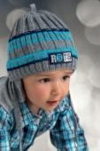 Detská čiapka-FACHOWIEC šedá
