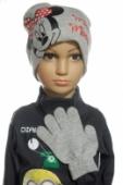 Čiapka a rukavice - Minnie