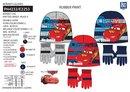 Chlapčenský set Cars - čiapka a rukavice