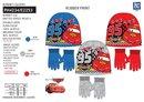 Chlapčenský set Cars - čiapka a rukavice, 5-PH4234