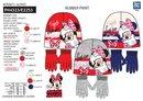 Dievčenský set Minnie - čiapka a rukavice